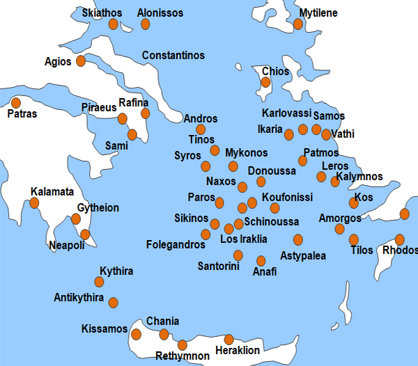 fährverbindungen griechenland karte Griechenland Fähre online buchen   Griechenland Fähre übersetzen