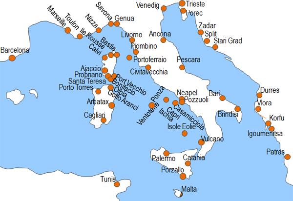 karte fährverbindungen italien griechenland Italien Fähre Ticket kaufen   Italien Fähren übersetzen